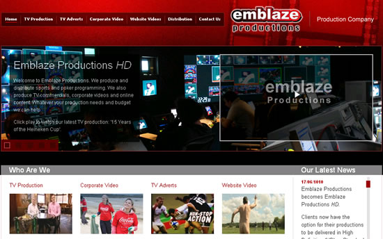 Emblaze HD TV Productions