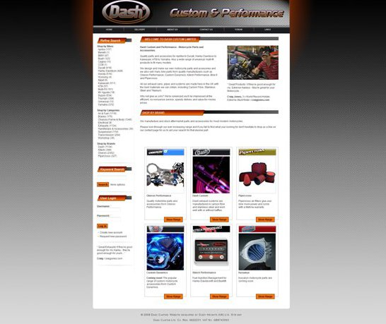 Dash Custom New Site