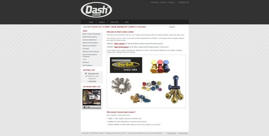 Dash Custom Old Site